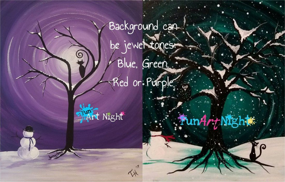 Paint and Pints Mid-Winters Eve in Staunton (Color choice)