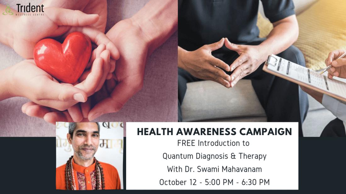 Health Awareness Campaign with Dr. Swami Mahavanam