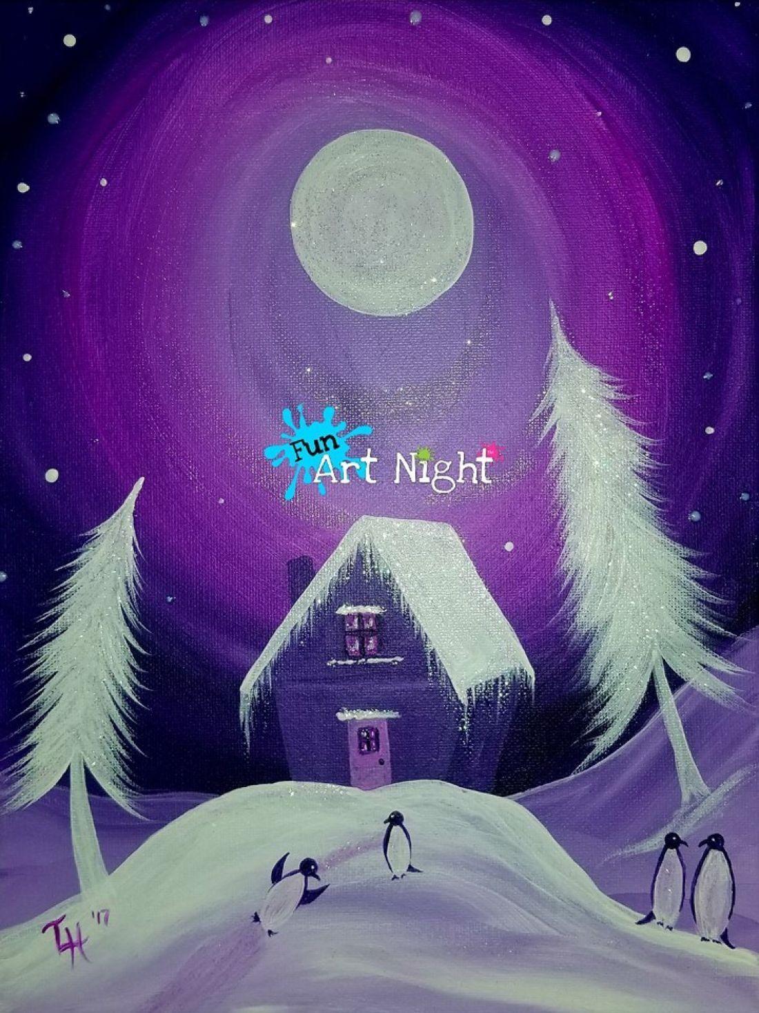 Fun Art Night Moonlit Merriment in Waynesboro