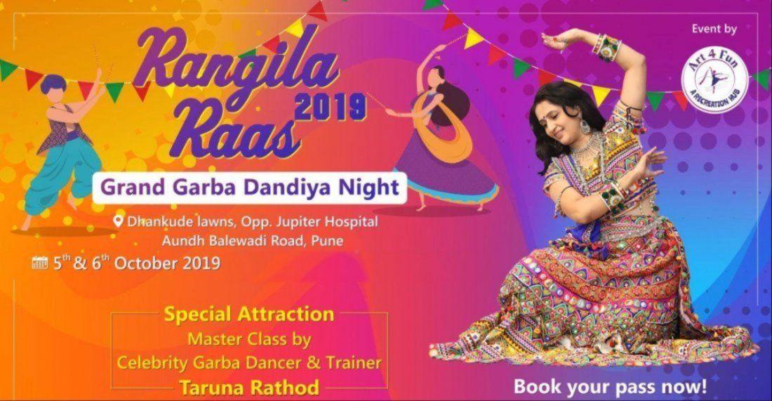 Rangila Raas 2019. Grand Garba Dandiya Night