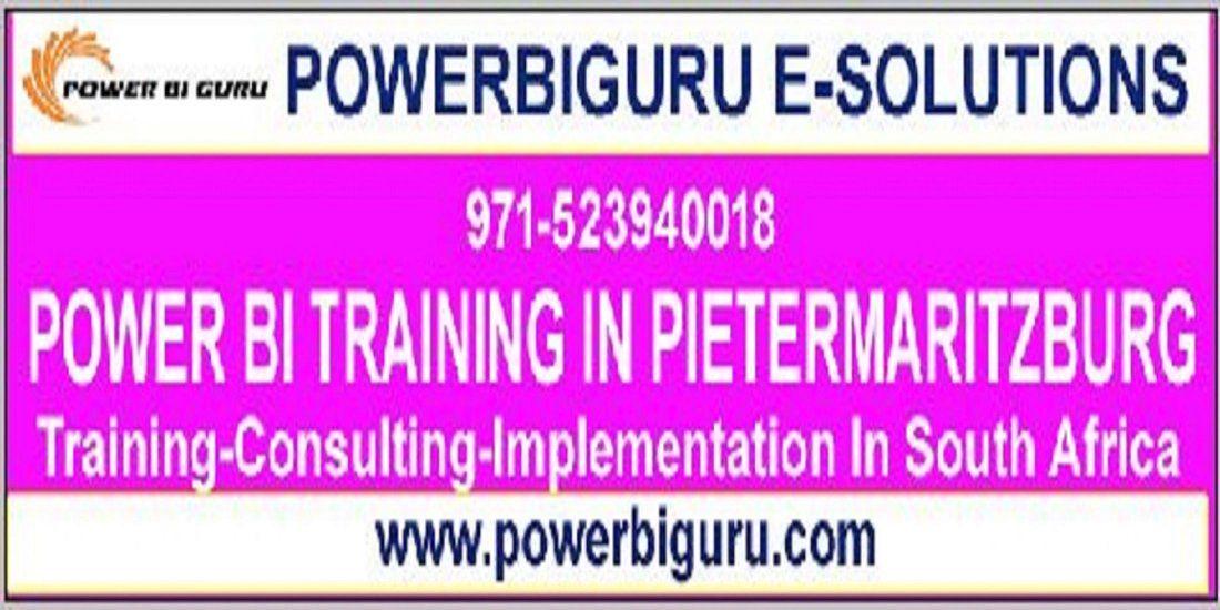 Microsoft Power BI Training in PIETERMARITZBURGsouth africa