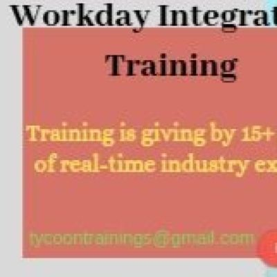 Workday Integration Training  Best Workday HCM Integration Training