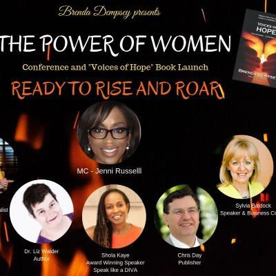 Voices of Hope Book Launch - The Power of Women - Ready to Rise and Roar - Brenda Dempsey