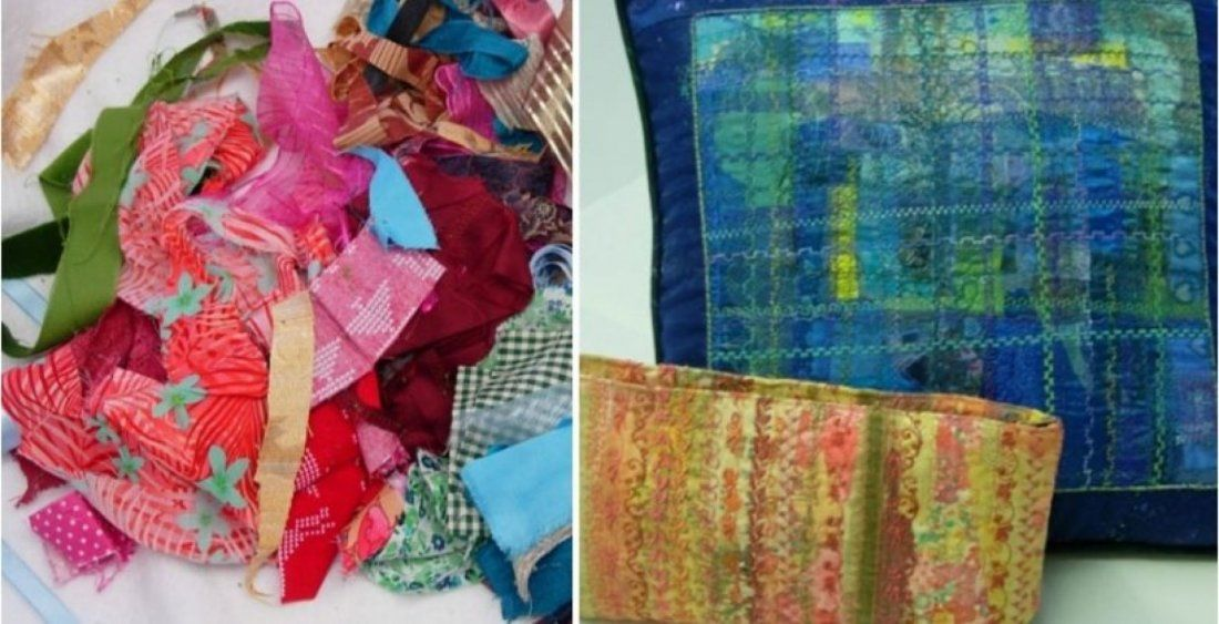 Rags to Riches - creative textiles