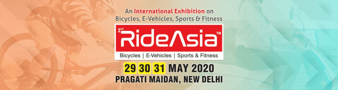 RideAsia 2020 Exhibition on Bicycles E-vehicles Sport Fitness