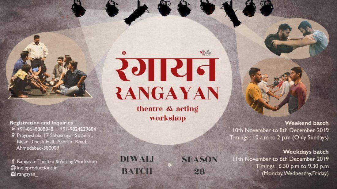 Rangayan - Theatre & Acting Workshop (Season 26)
