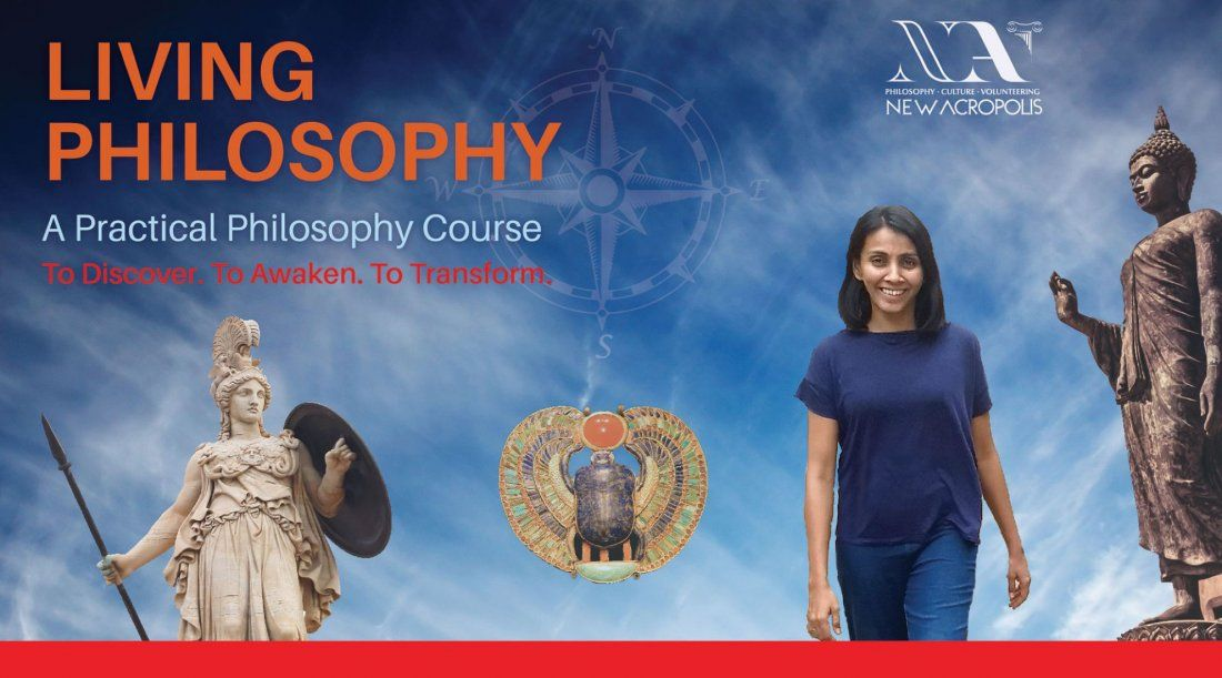 Trial Class Living Philosophy course  Nov19 (Wednesdays Jayanagar)