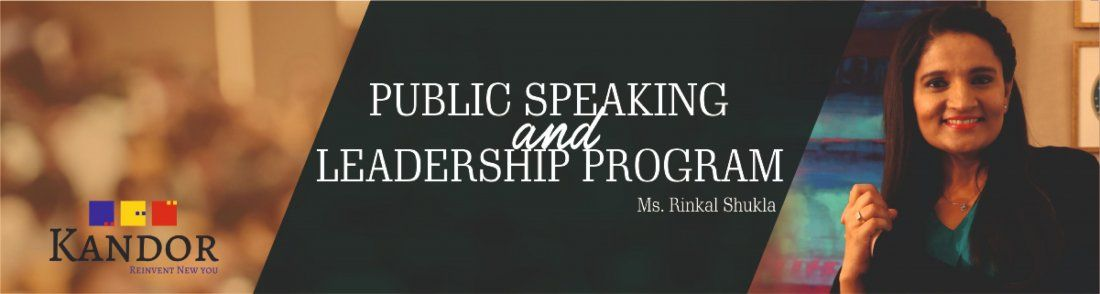 PUBLIC SPEAKING AND LEADERSHIP PROGRAM