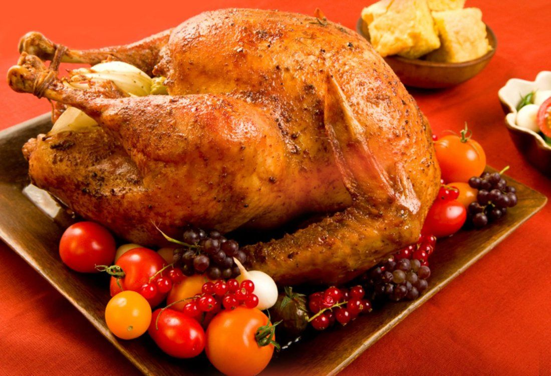 Thanksgiving Day Premium Buffet with Turkey Ham and Prime Rib at Eves Waterfront