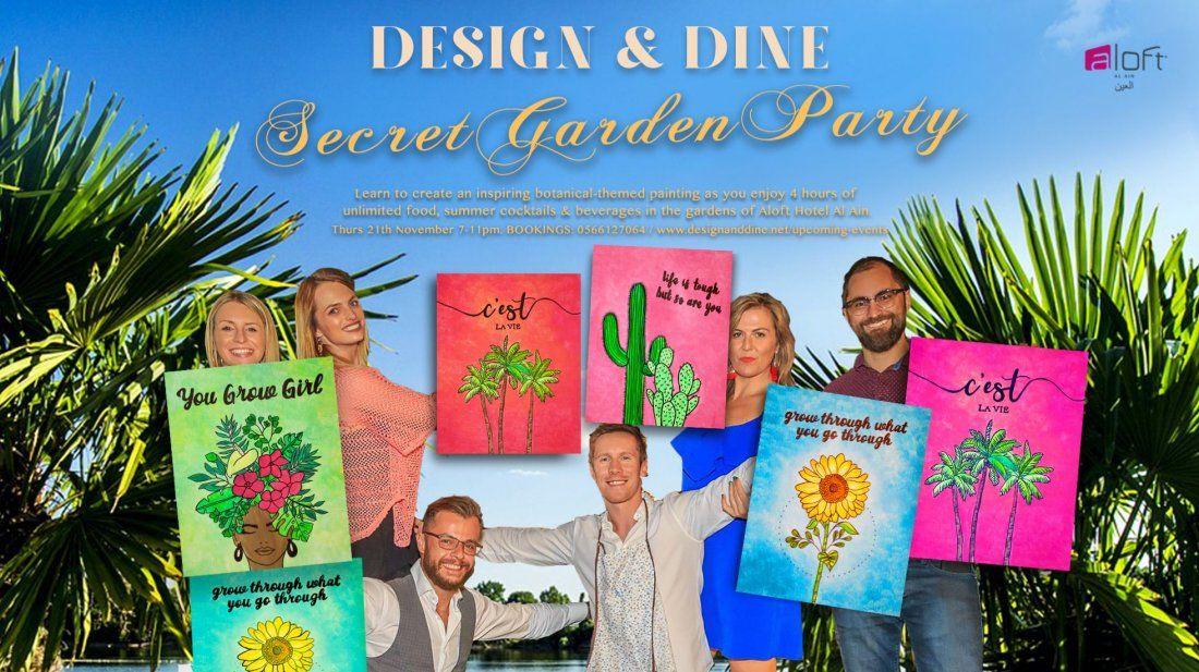 Design & Dine - Secret Garden Party (Al Ain)