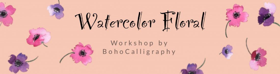 Watercolor Florals Workshop for Beginners