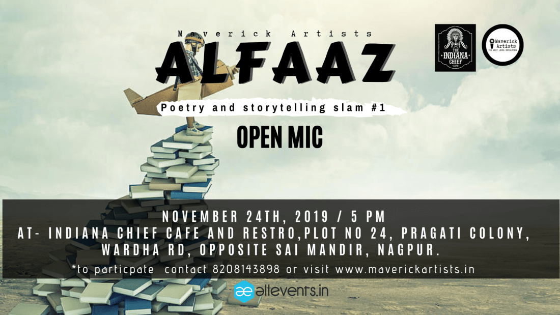 Alfaaz Poetry and Storytelling Slam 1