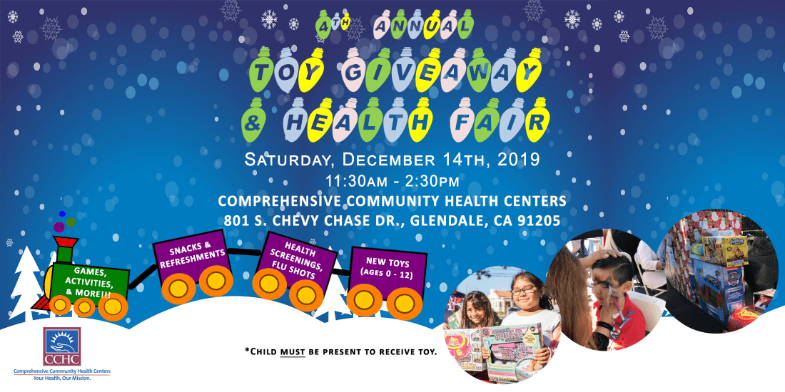CCHCs 4th Annual Toy Giveaway & Health Fair