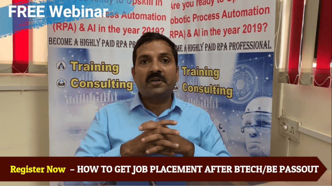FREE COACHING  HOW TO GET JOB PLACEMENT AFTER BTECHBE PASSOUT