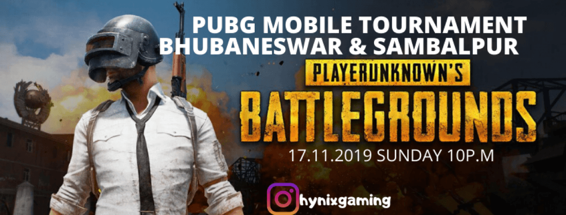 PUBG MOBILE TOURNAMENT BHUBANESWAR & SAMBALPUR