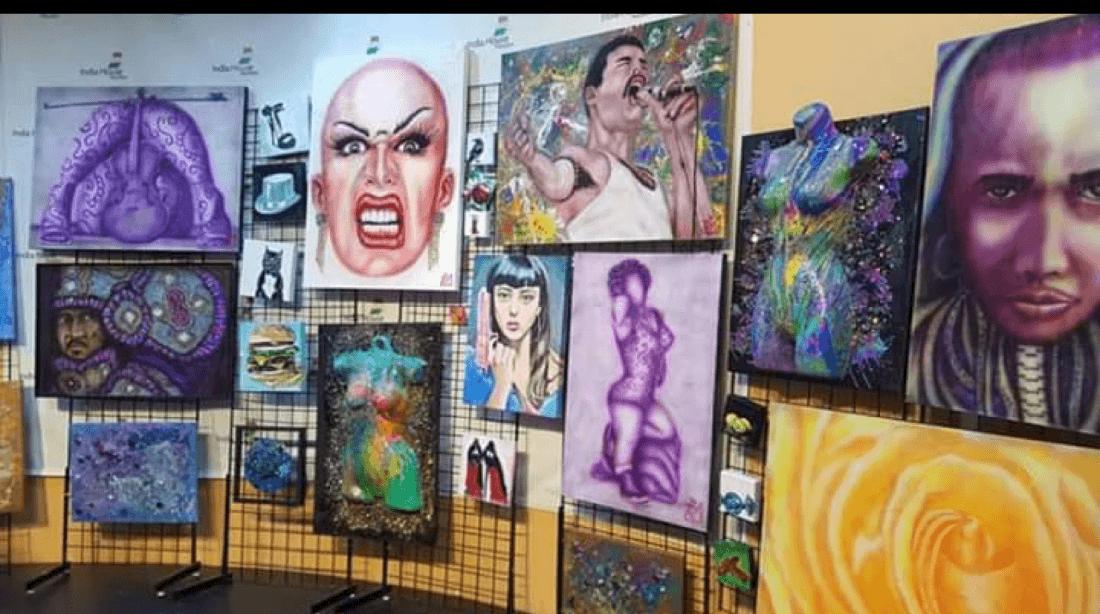 Social Beer Garden Art Show and Artisan Market