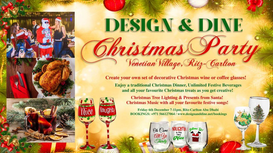 Design & Dine - Christmas Party at The Ritz