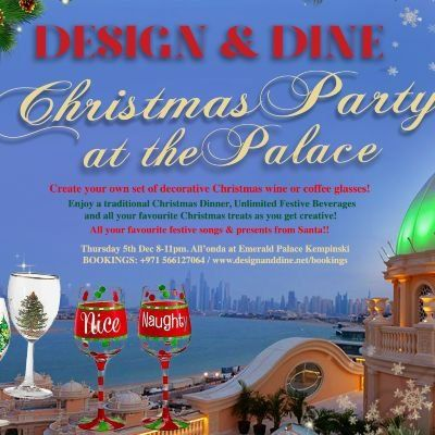 Design & Dine - Christmas Party at The Palace