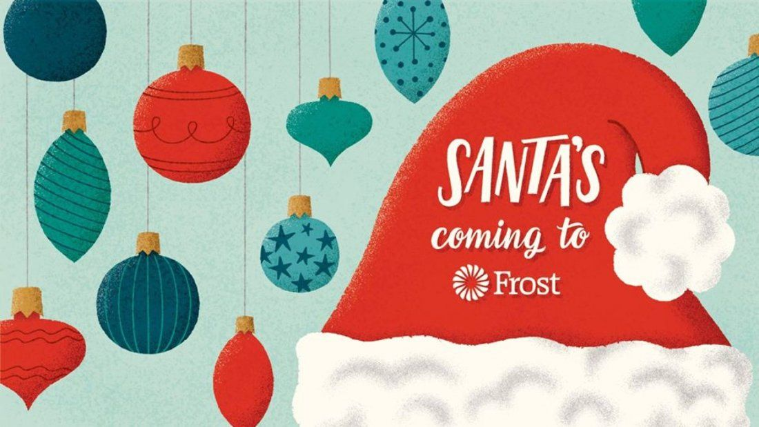 Santas Coming to Frost Coppell