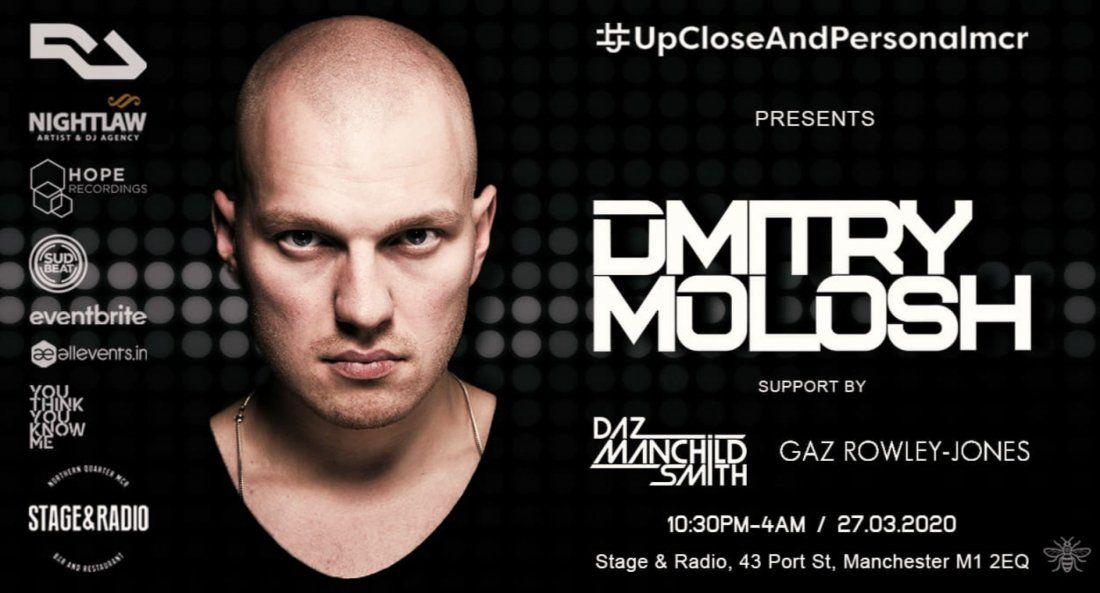 #upcloseandpersonalmcr Dmitry Molosh  | Event in Manchester | AllEvents.in