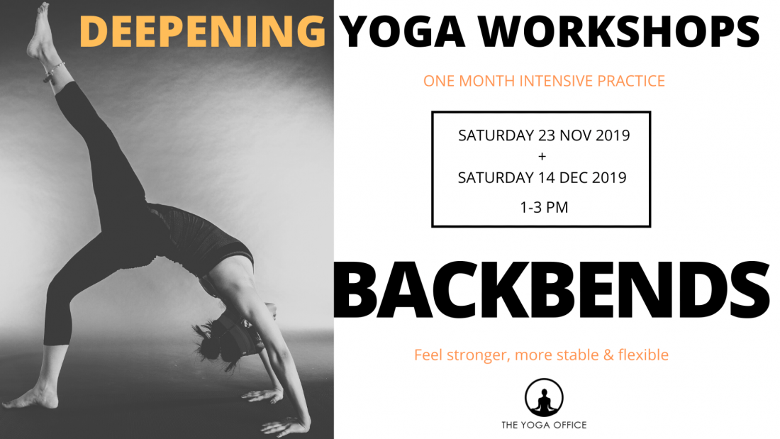 Deepen your Backbends - One Month Backbending Workshop