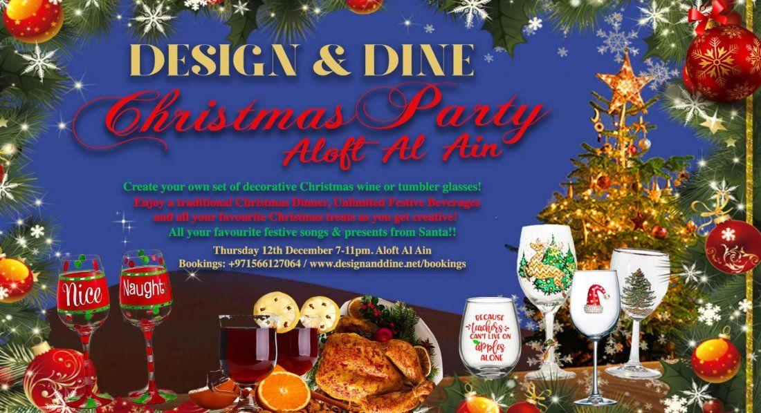 Design & Dine - Christmas Party at Aloft Al Ain