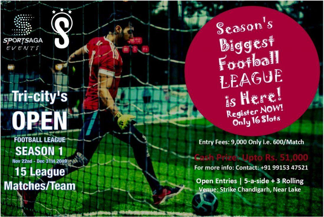Tri-citys Open Football League - Season 1