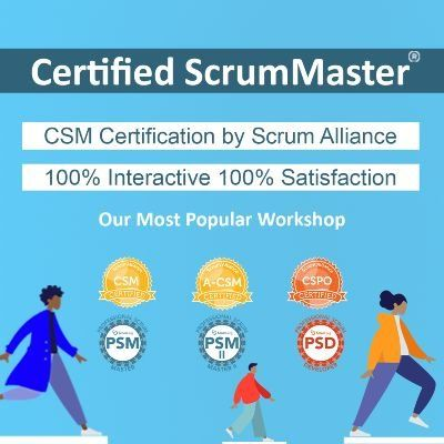 Certified ScrumMaster CSM Workshop Bengaluru by Kamlesh Ravlani CST.