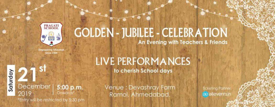 Pragati School - Golden Jubilee Celebration