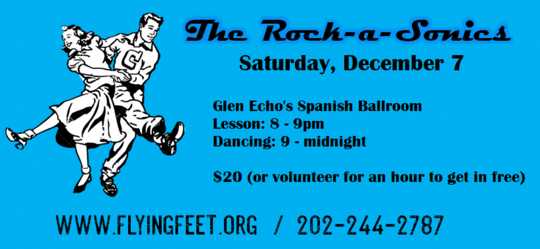 Swing Dance with Rock-A-Sonics at Glen Echo 127