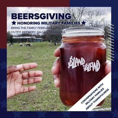 Beersgiving In Honor Of