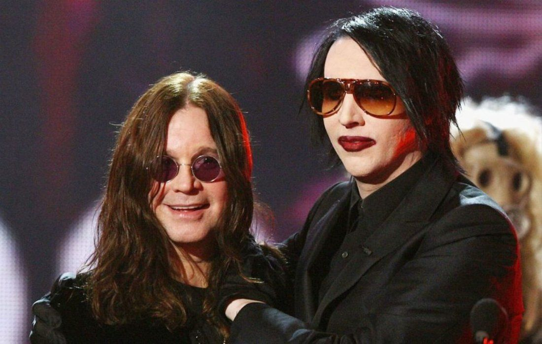 Ozzy Osbourne & Marilyn Manson at North Island Credit Union Amphitheatre Chula Vista CA