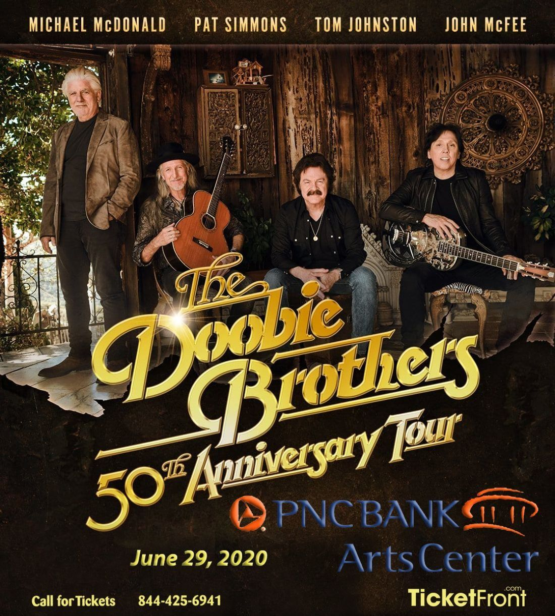 The Doobie Brothers & Michael McDonald at PNC Bank Arts Center Holmdel NJ