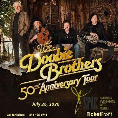 The Doobie Brothers & Michael McDonald at Saratoga Performing Arts Center Saratoga Springs NY