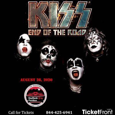 Kiss at KeyBank Pavilion Burgettstown PA