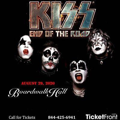 Kiss at Boardwalk Hall Arena - Boardwalk Hall Atlantic City NJ