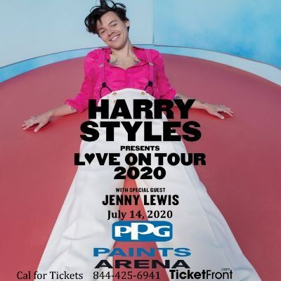 Harry Styles & Jenny Lewis at PPG Paints Arena Pittsburgh PA