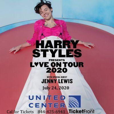 Harry Styles & Jenny Lewis at United Center Chicago IL