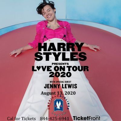 Harry Styles & Jenny Lewis at American Airlines Center Dallas TX