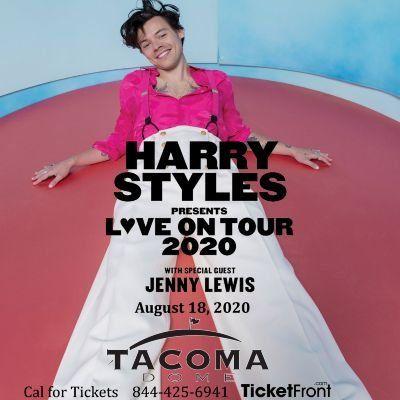 Harry Styles & Jenny Lewis at Tacoma Dome Tacoma WA
