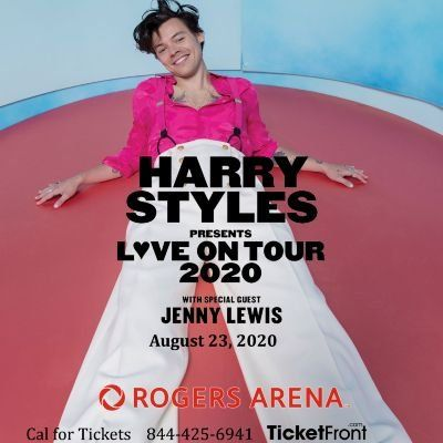 Harry Styles & Jenny Lewis at Rogers Arena Vancouver BC