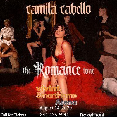 Camila Cabello at Vivint Smart Home Arena Salt Lake City UT