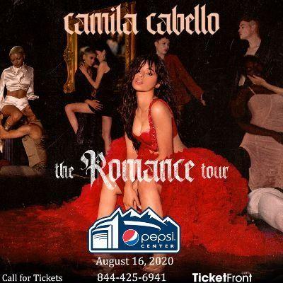 Camila Cabello at Pepsi Center - Denver Denver CO