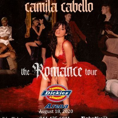 Camila Cabello at Dickies Arena Fort Worth TX