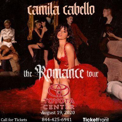 Camila Cabello at Toyota Center - TX Houston TX