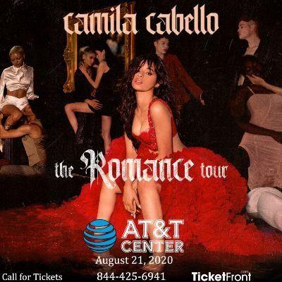 Camila Cabello at AT&ampT Center San Antonio TX