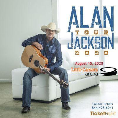 Alan Jackson at Little Caesars Arena Detroit MI