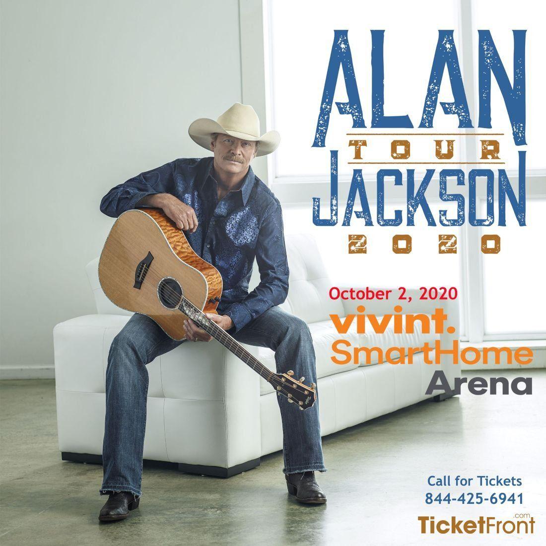 Salt Lake City Utah Homes: Alan Jackson At Vivint Smart Home Arena, Salt Lake City