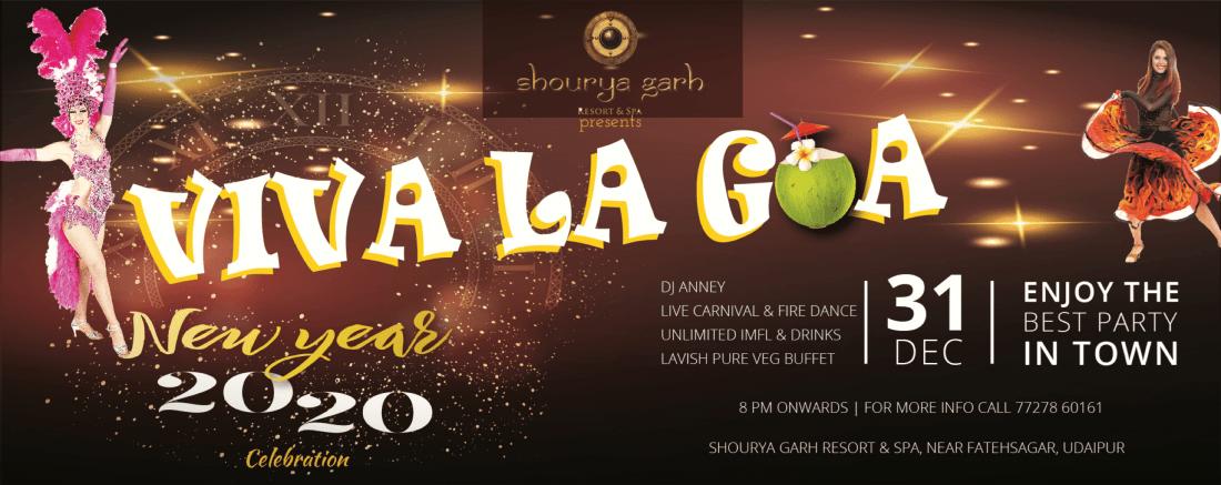 Viva La Goa - Shouryagarh Resort & SPA