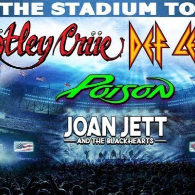 Motley Crue Def Leppard Poison & Joan Jett and The Blackhearts at Nationals Park Washington DC